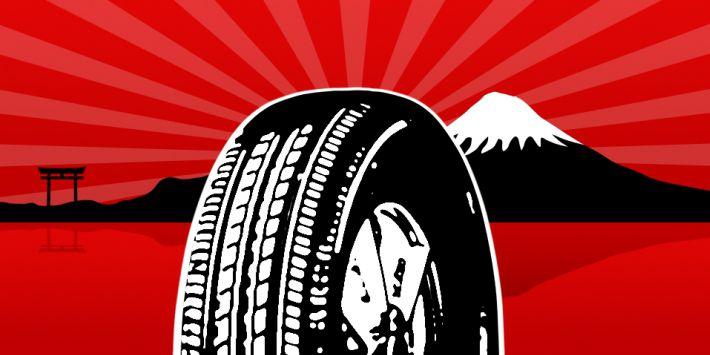 Les marques et fabricants de pneus japonais
