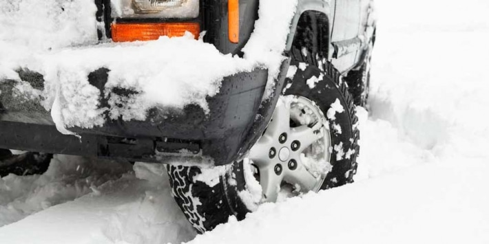 Quel type de pneu hiver faut-il à un 4x4 ?