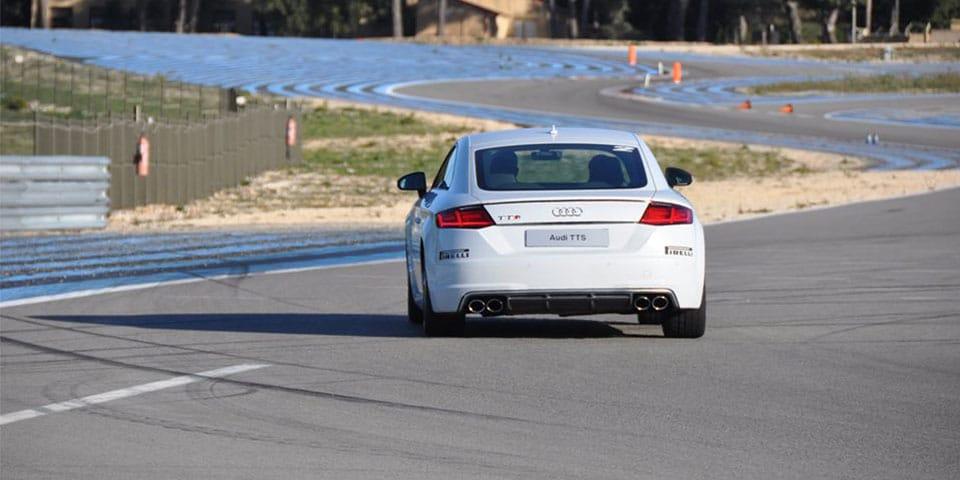 Audi TTS Driving Center roulage