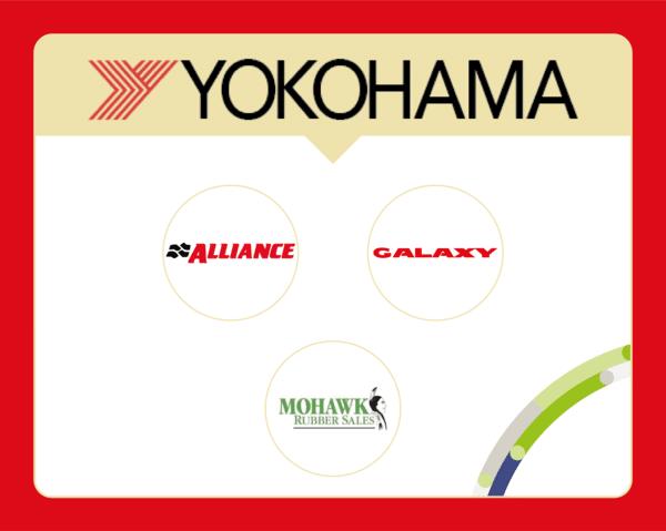 Quelles sont les marques de pneus appartenant à Yokohama ?