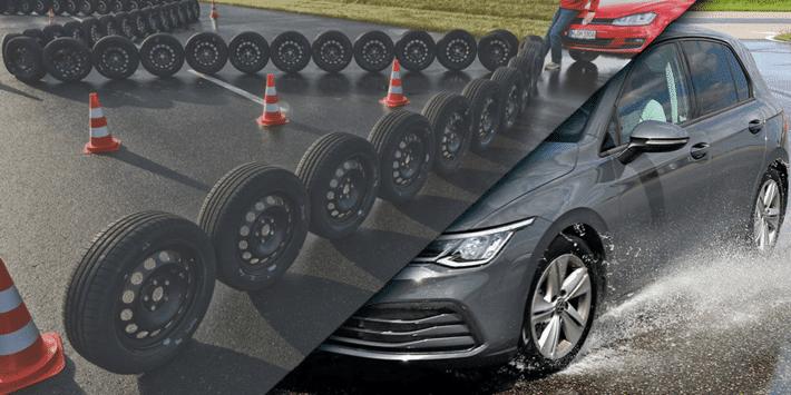 Test et comparatif de pneus été Auto Bild en dimension 205 55 R16