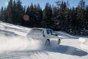 Test pneu hiver 2019 : L'argus teste les pneus hiver en freinage sur neige