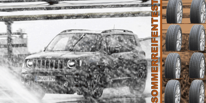 Test pneus été SUV : comparatif d'Auto Bild 2021